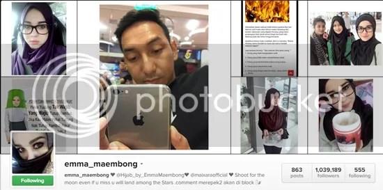emma maembong instagram