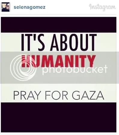 Selena Gomez dikecam peminat setelah menyokong GAZA