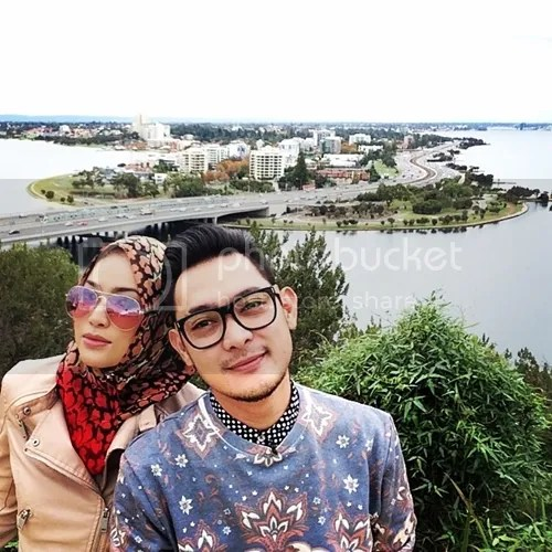 aril af dan isteri honeymoon
