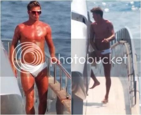 sexy david beckham with underwear