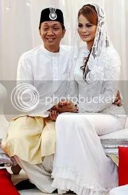 gambar perkahwinan rebecca nur islam
