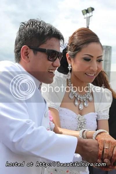 gambar kahwin LAN MUH