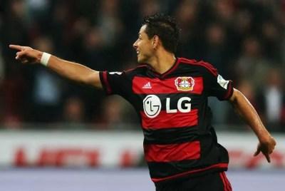 Former Man United striker Javier Hernandez scores again to earn Bayer Leverkusen win against ...
