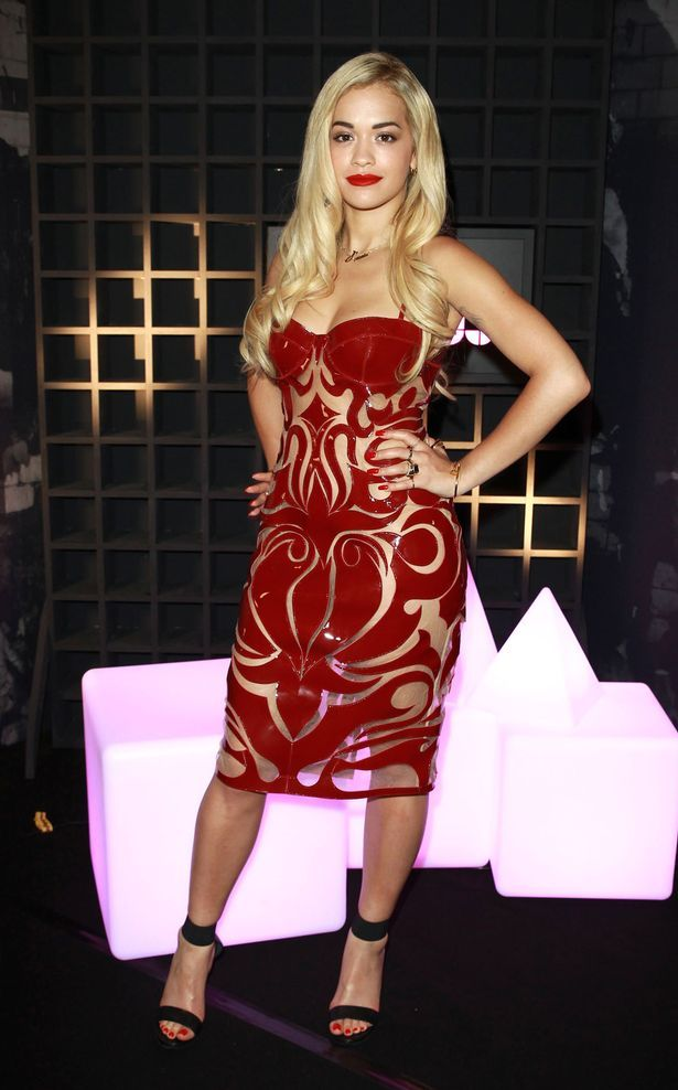 Rita Ora attends the launch of Sony Xperia Access at Sony Music
