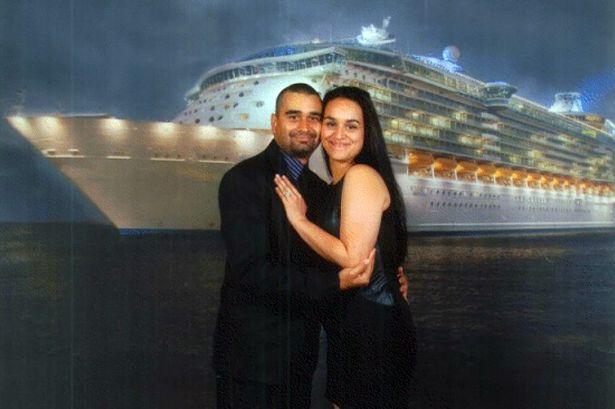 Derek Medina and wife