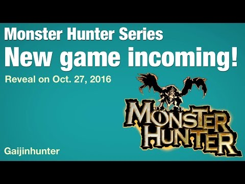 New Monster Hunter announcement incoming!