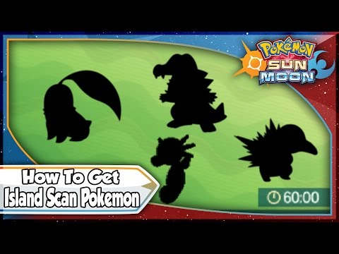 Pokemon Sun and Moon - How To Get RARE Island Scan Pokemon With QR Codes! [SM Tips & Tricks]