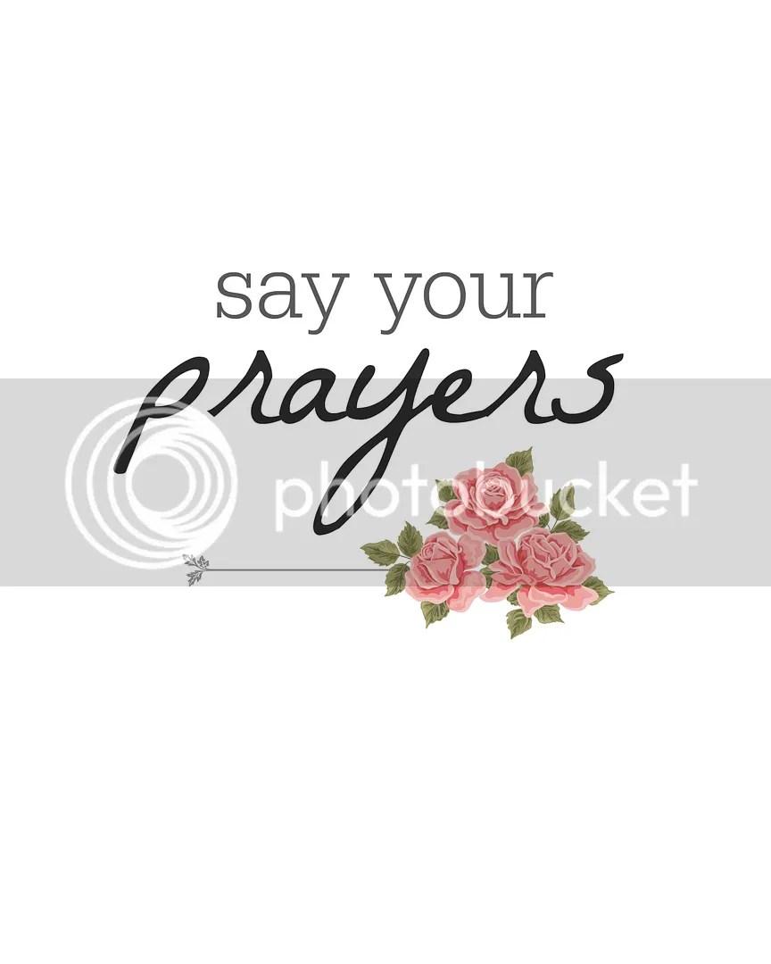 Say Your Prayers | Wall Art | Salt Water Blog