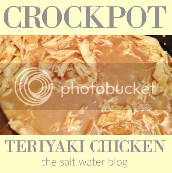 Crock Pot Teriyaki Chicken | A Recipe From The Salt Water Blog