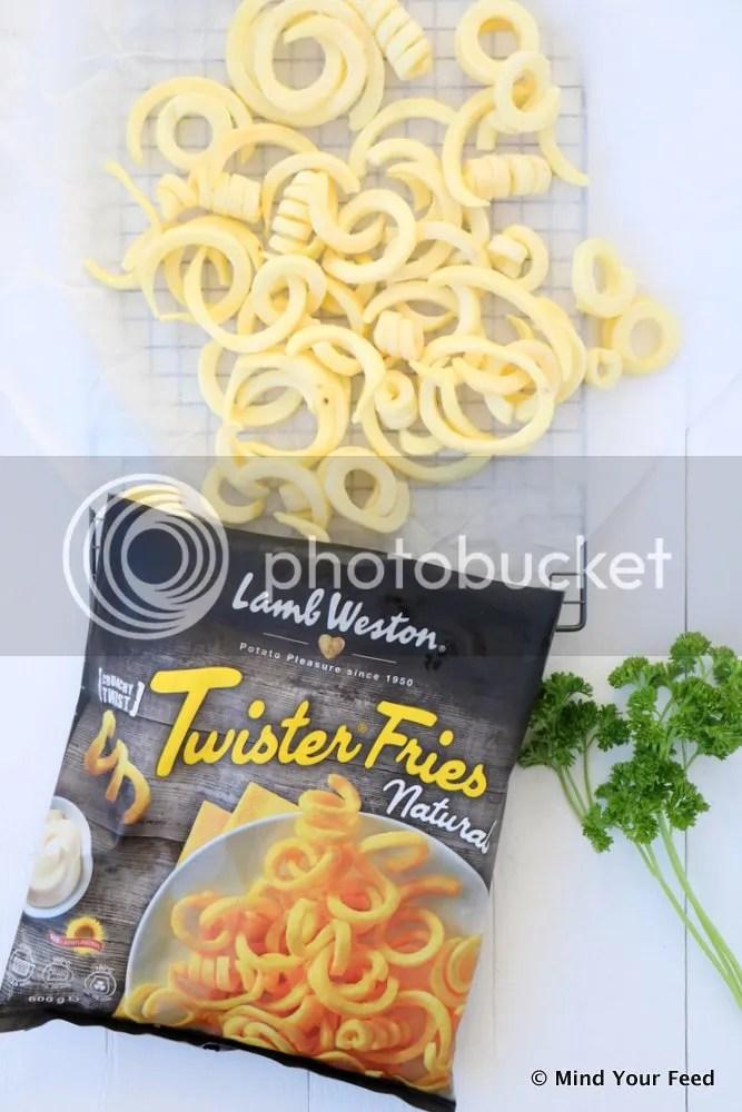 truffel peterselie frietjes