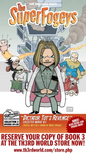 SuperFogeys Book 3 Cover