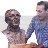 Devon sculptor Luke Shepherd's bust of Leo Abse to be housed in the National Museum of Cardiff