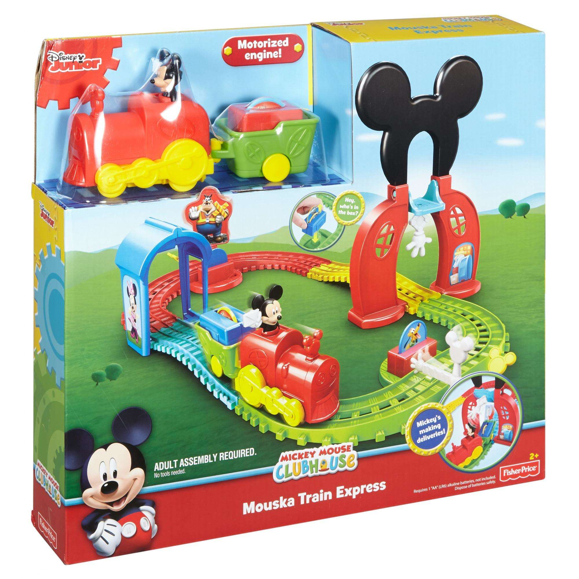 Popular Disney Mickey Mouse Mouska Train Express Playset Fisher Price Train Track Setup Fisher Price Train Ebay baby Fisher Price Train