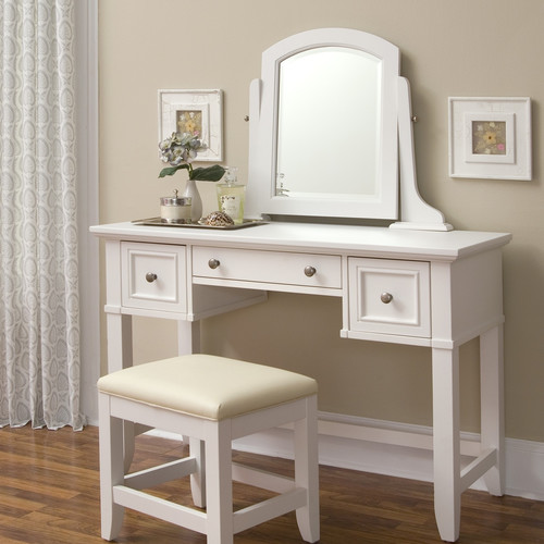 Home Styles Naples Vanity with Mirror - Walmart.com