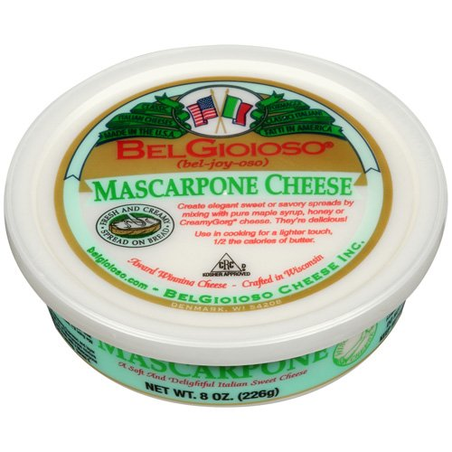 BelGioioso Mascarpone Cheese, 8 oz Cup, Spreadable Cheese - Walmart.com