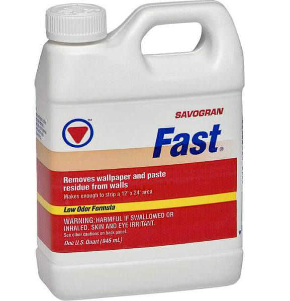 Fast 10772 Wallpaper Remover, 1 qt, Blue, Liquid - Walmart.com