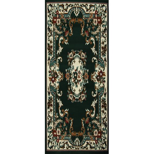 E Astoria Grand Lilly Hunter Green Area Rug