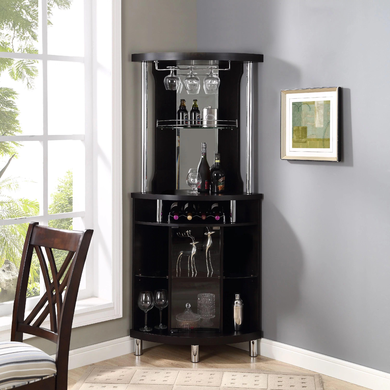 Home Source Corner Bar Unit