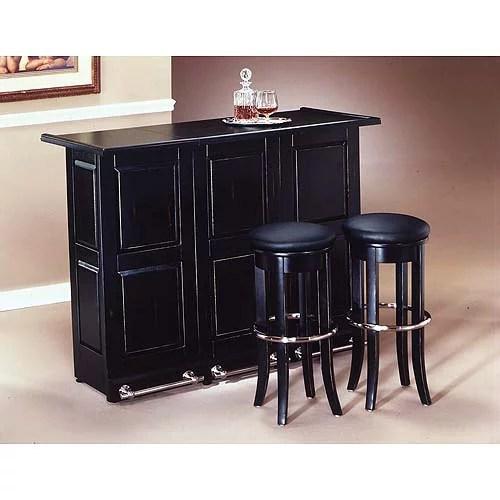 Home Styles Folding Bar, Black - Walmart.com