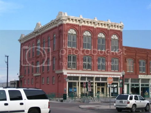 Historic Building on Waxahachie Square