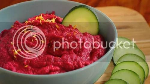 BEST Beet Hummus Recipe