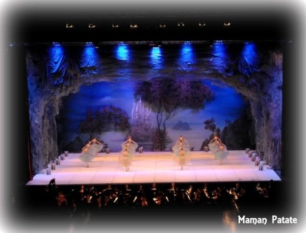 ballet lac des cygnes