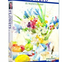 Painting Flowers in Watercolor with Charles Reid 2xDVD5
