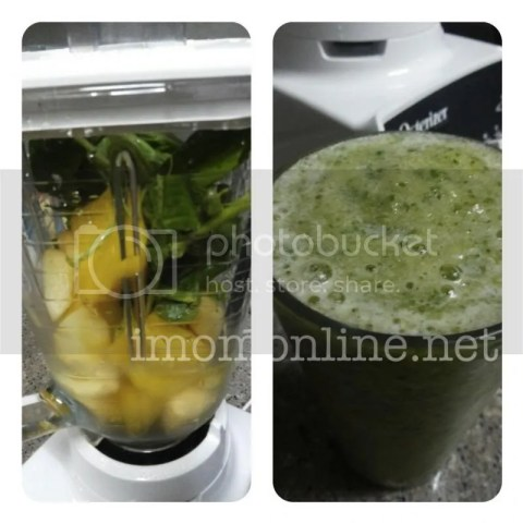 pineapple apple kale healthy smoothies