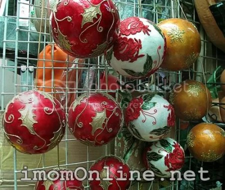 christmas balls dapitan street market