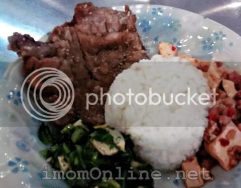 Happy Delicious Kitchen pork chop rice