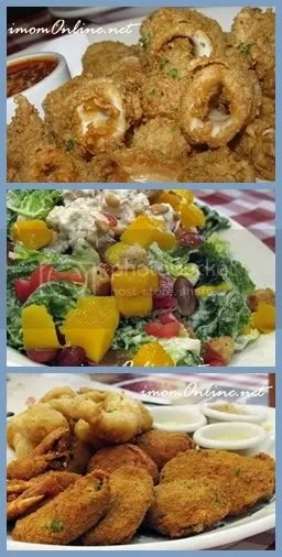 Italliani's lunch sets appetizers calamari sicilian salad