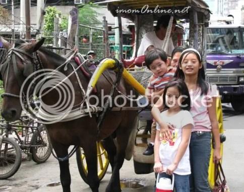 Binondo trip kalesa ride