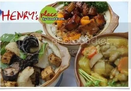 Three vouchers worth P400.00 at Henrys Place.