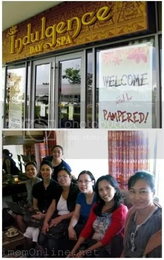 Amherst Laboratories Unilab mommy bloggers visit spa treat