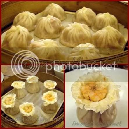 Shi Lin Restaurant xiao long bao shrimp siomai