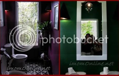 Breakfast at Antonio's tagaytay scenic bathroom