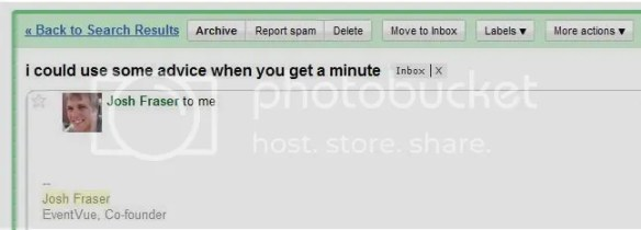Gmail com Gravatar