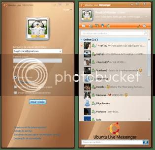 Ubuntu Live Messenger