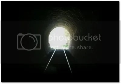 Luz ao fundo do túnel