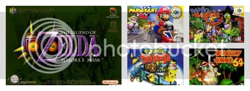 Nintendo 64 spellen games