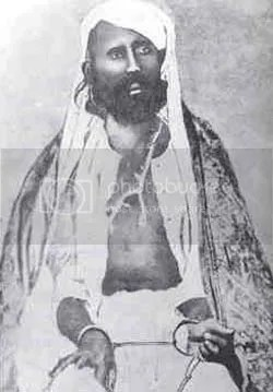 Tantya Tope,  after his capture in 1859