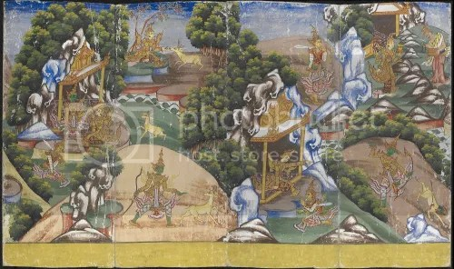 Burmese painting of the Ramayana