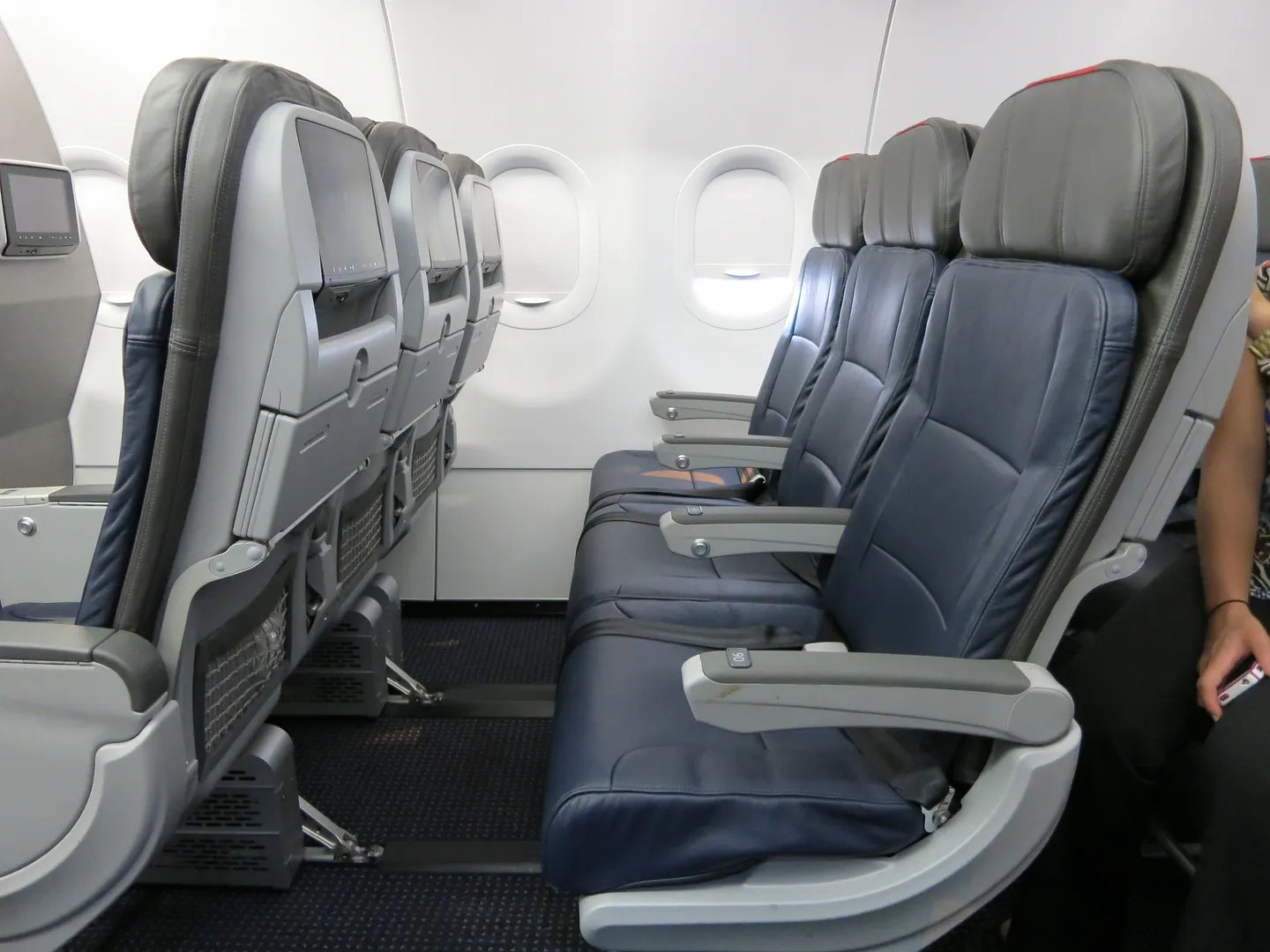 Us airways a319s will be getting new seats extra legroom starting american airlines a319 economy seats sciox Gallery