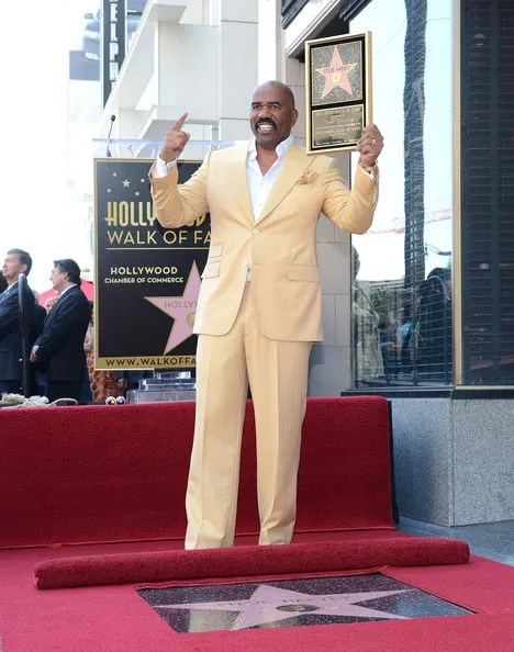 SteveHarveyHonoredHollywoodWalkFameMSXvSWqwXFOl FAB Photos: Steve Harvey gets his star on the Hollywood Walk Of Fame
