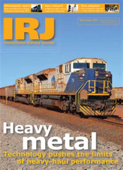 International Railway Journal – November 2015
