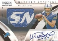 Matthew Stafford 2009 Playoff National Treasures RC
