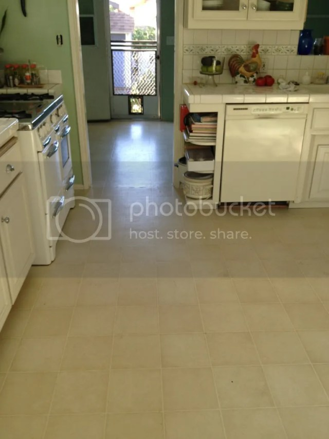 FD56597C E07D 4438 8A48 9F264A87AD2F 2529 0000052CDCD7D693 Retro Marmoleum Flooring for the Kitchen   Day 1of the project