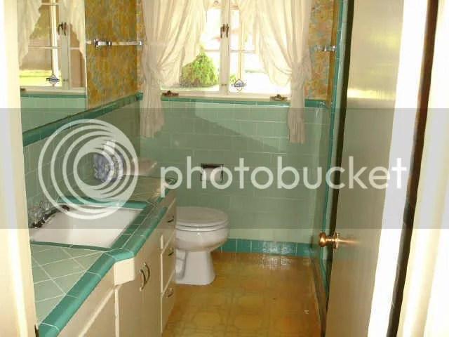 Bathroom Tiles Replacement replacing just the vanity - fiftiesbathroom bathroom remodel | ask