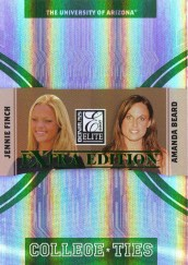 2007 Donruss Elite Jennie Finch Amanda Beard
