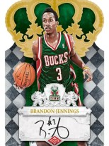 09/10 Panini Crown Royale Brandon Jennings Auto RC